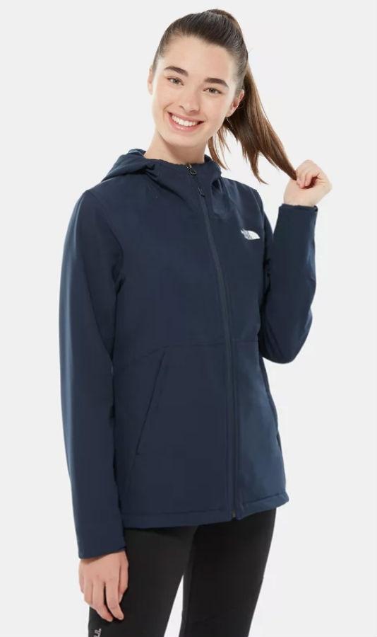 The North Face Shelbe Raschel Hoodie Women's Fleece Jacket, S Navy