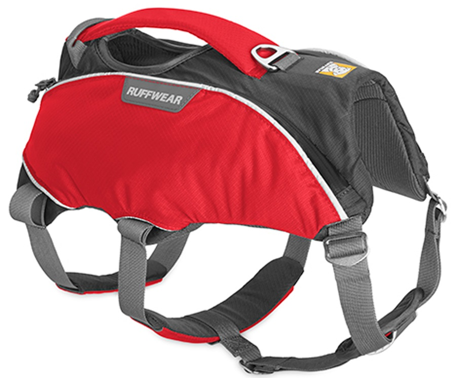 Ruffwear Web Master Pro Active Dog Harness With Handle, L/XL Red