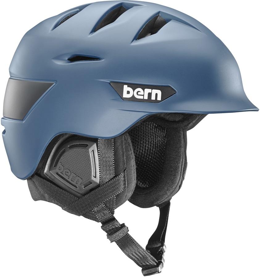 Bern Rollins Ski/Snowboard Helmet, L Matte Muted Teal