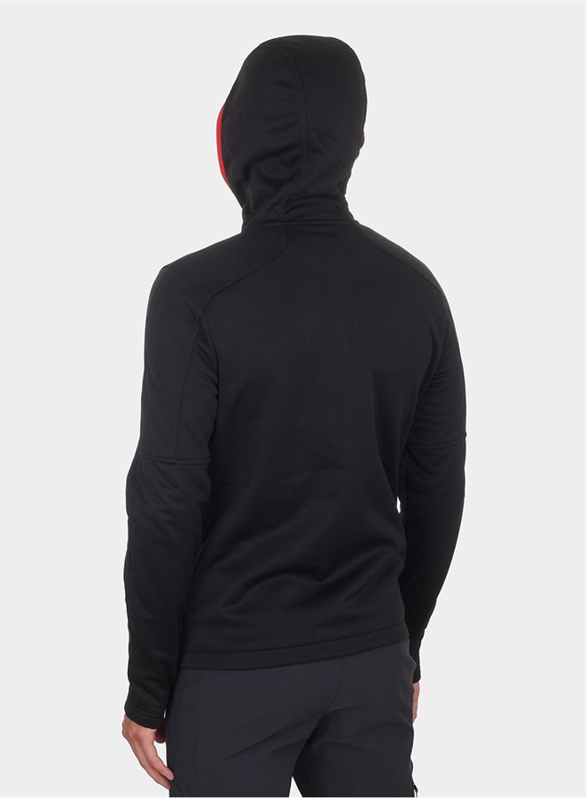 d4822d196 The North Face Rafford Full Zip Hoodie Fleece Jacket, L, TNF Black