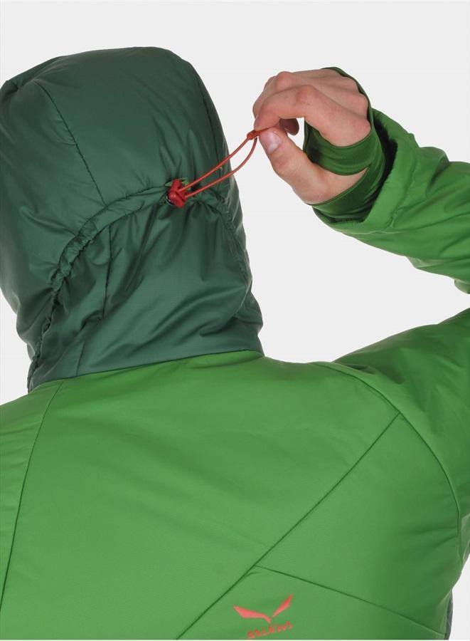 Salewa Ortles Primaloft Men's Insulated Jacket, M, Treetop