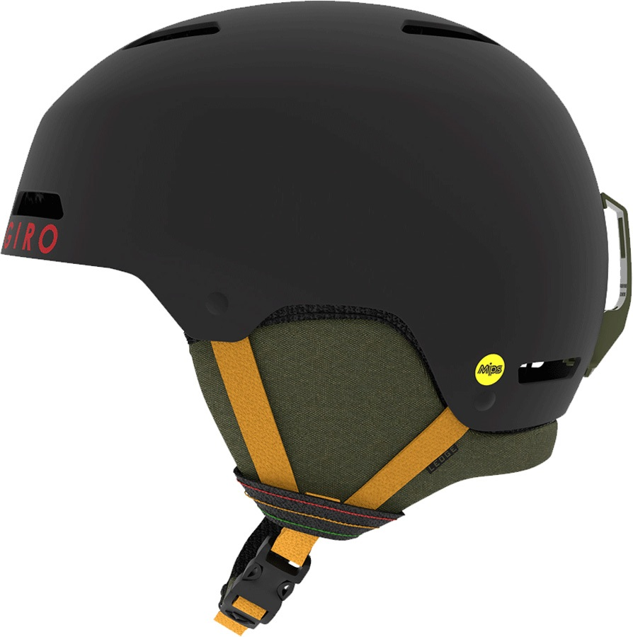 Giro Ledge MIPS Snowboard/Ski Helmet, S Matte Black Mo Rockin