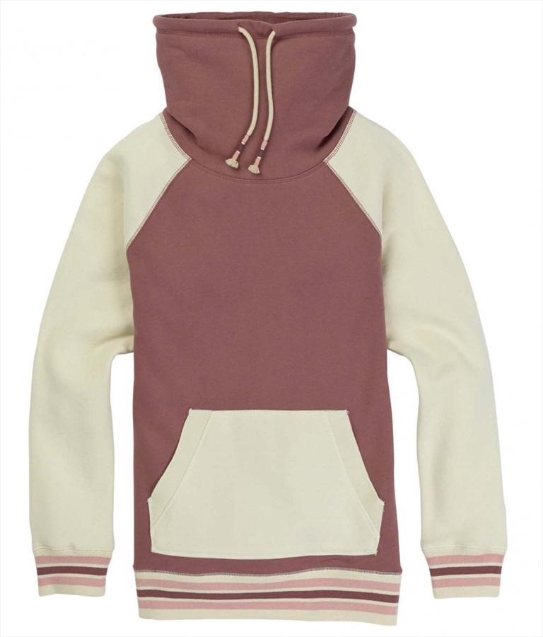 Burton Women's Indie Crush Ski/Snowboard Sweatshirt, XL Twilight Mauve