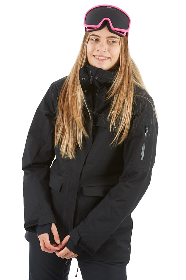 Oakley Moonshine 2.0 Women's Snowboard/Ski Jacket, S Blackout