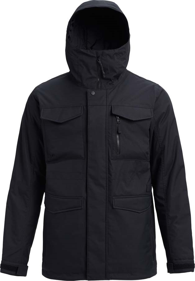 Burton Covert Snowboard/Ski Jacket S True Black