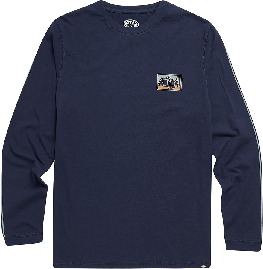 Animal Nold Long Sleeve Graphic T-Shirt, XL Indigo Blue