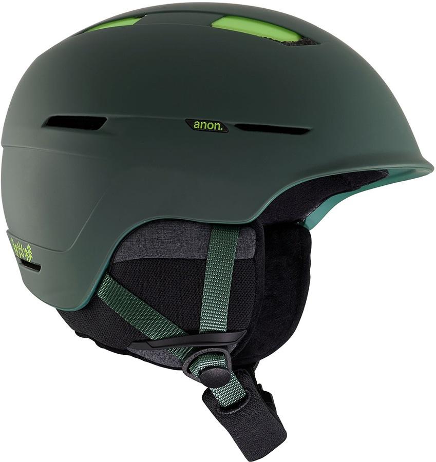 Anon Invert Ski/Snowboard Helmet, M Deer Mountain Green