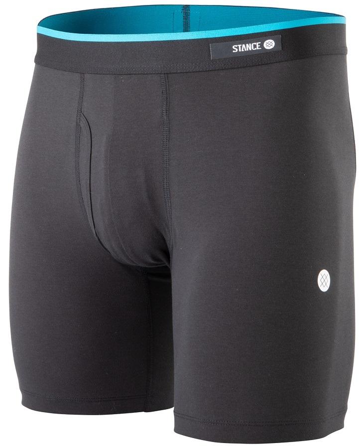 Stance Mens Boxer Brief Cotton Boxer Shorts/Underwear, XL OG Black