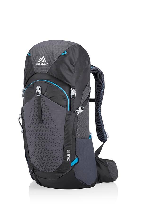 Gregory Zulu 35L S/M Dayhiking, Camping Backpack, Ozone Black