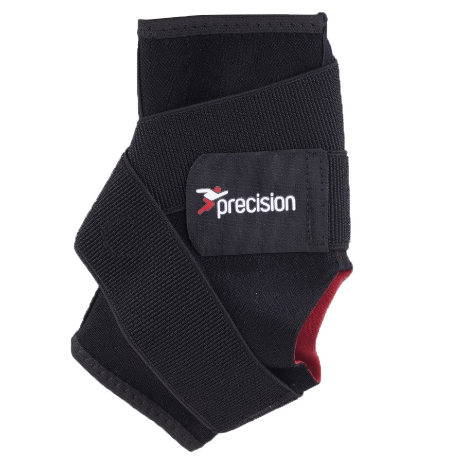 Precision Neoprene Ankle Support With Strap, M, Black