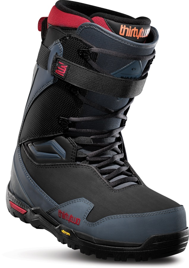thirtytwo TM-Two XLT Men's Snowboard Boots, UK 10 Grey/Black/Red 2020