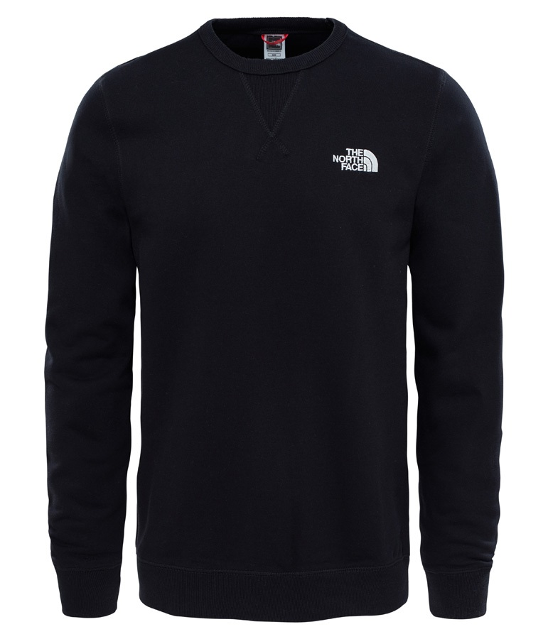 The North Face Street Fleece Men's Midlayer Pullover Top, L TNF Black