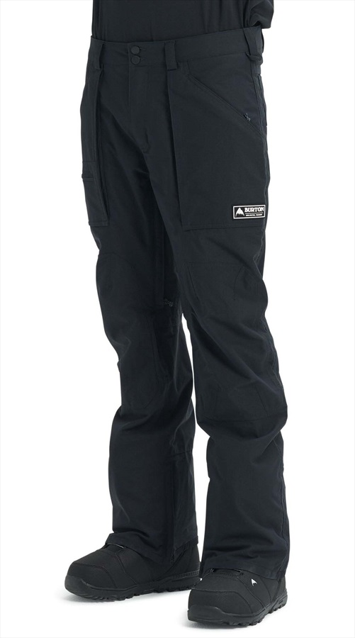 Burton Southside Snowboard/Ski Pants, L True Black 2020