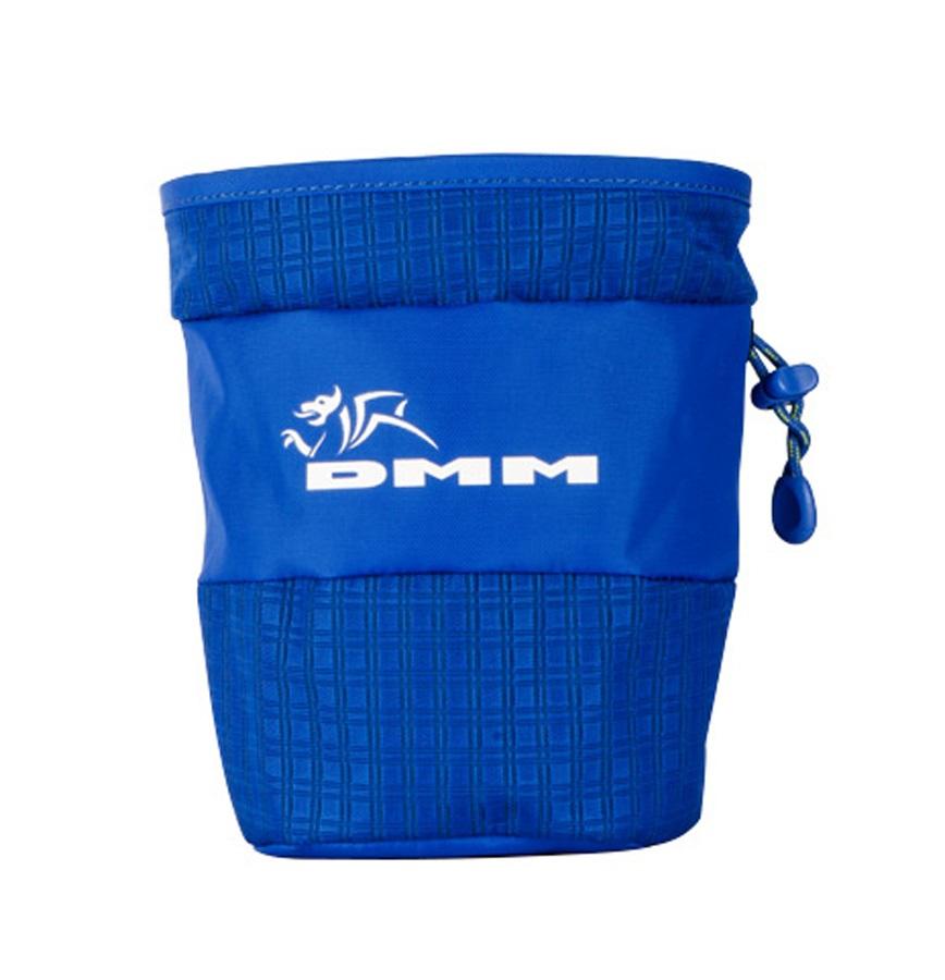 DMM Tube Rock Climbing Chalk Bag, Blue