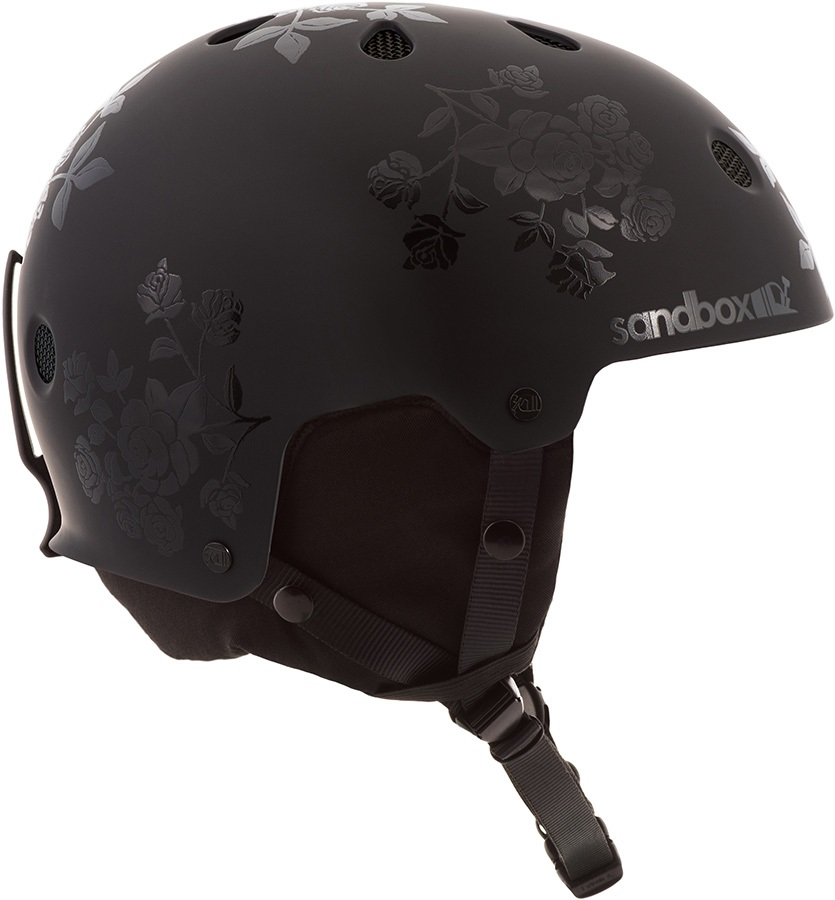 Sandbox Legend Snow Ski/Snowboard Helmet, S Black Rose