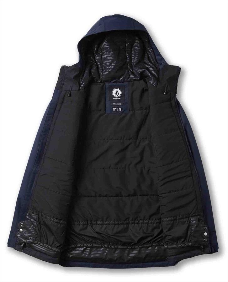 Volcom Deadly Stones Insulated Ski/Snowboard Jacket, XL Navy
