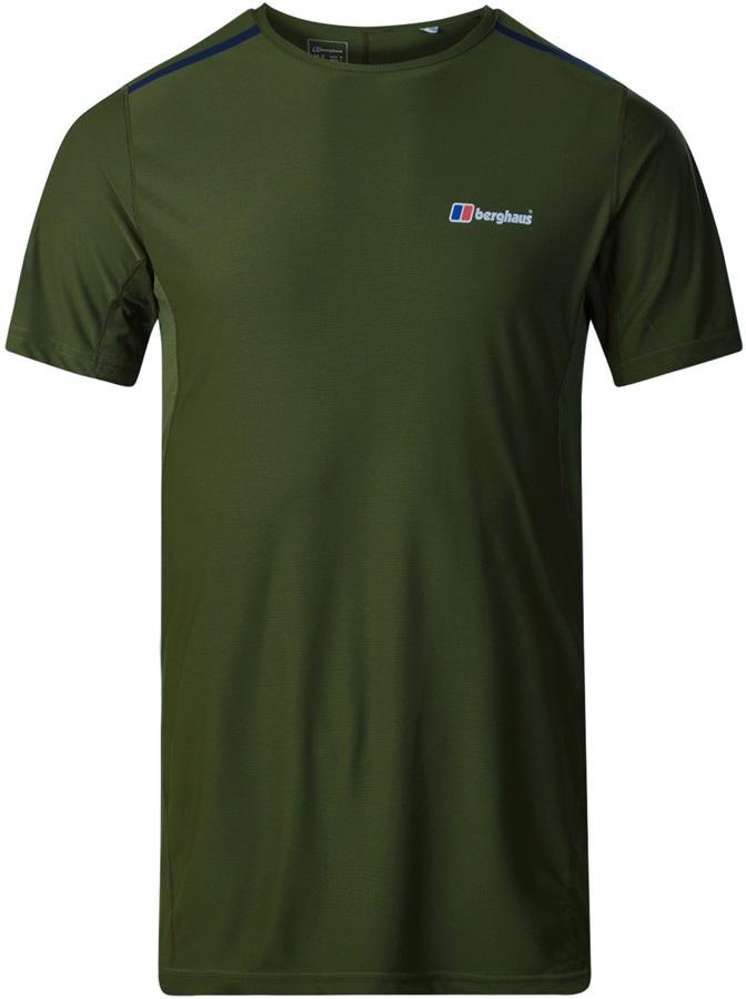 Berghaus Super Tech Short Sleeve Base Layer T-Shirt, S Chive