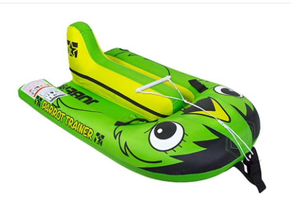 "Jobe Parrot Inflatable Waterski Trainer 60 X 49"" Green"