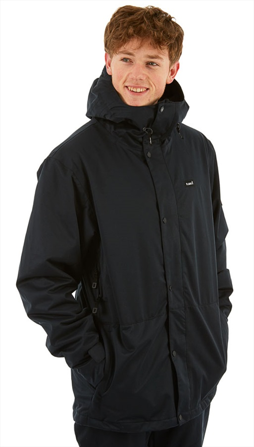 Planks Feel Good Ski/Snowboard Jacket, M Black