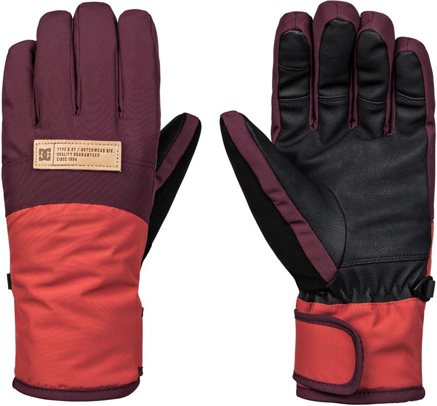 DC Franchise Women's Ski/Snowboard Gloves, M Winetasting