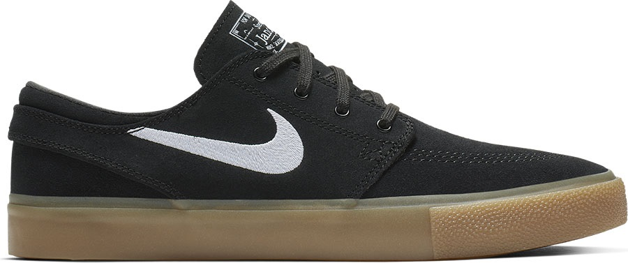 Nike SB Zoom Janoski RM Skate Shoes, UK 9 Black/White/Gum