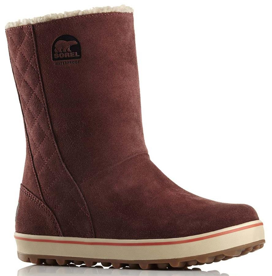 86ebcfad2f8 Sorel Glacy Women's Winter Boots UK 3 Redwood