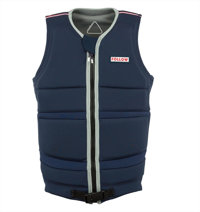 Follow Token Oli Wakeboard Impact Vest, S Navy 2018