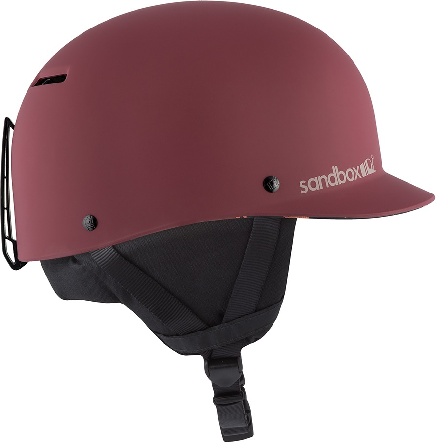 Sandbox Classic 2.0 Snow Ski/Snowboard Helmet, M Sangria