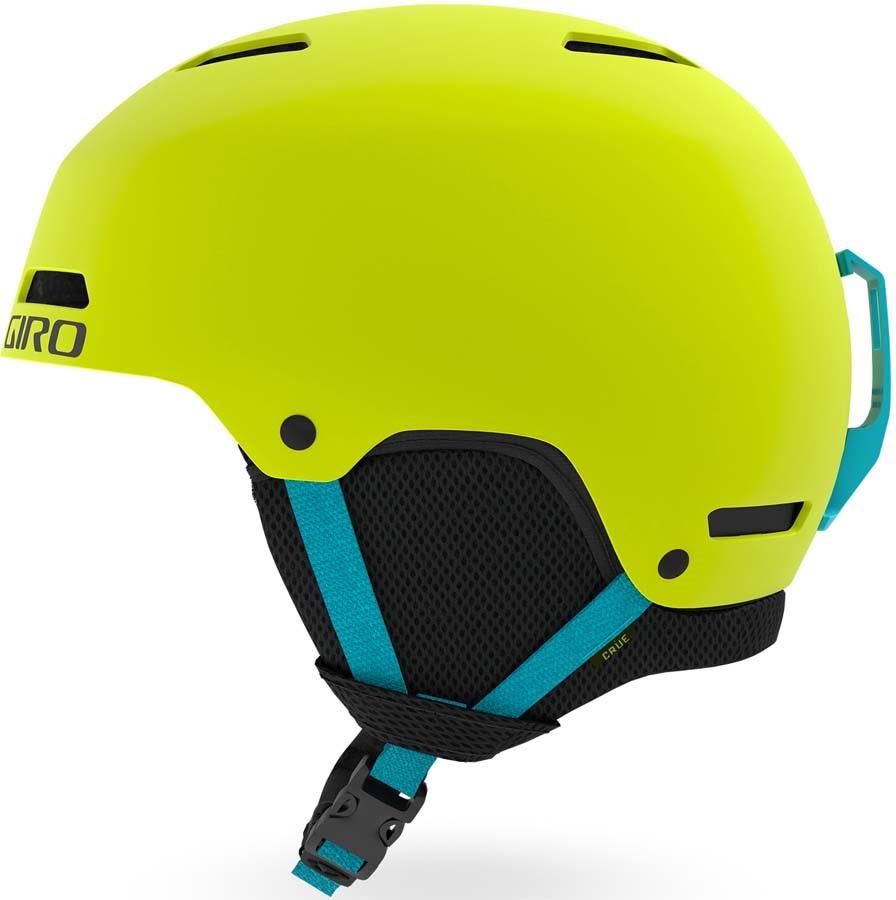Giro Crue Kids Ski/Snowboard Helmet, S Matte Citron