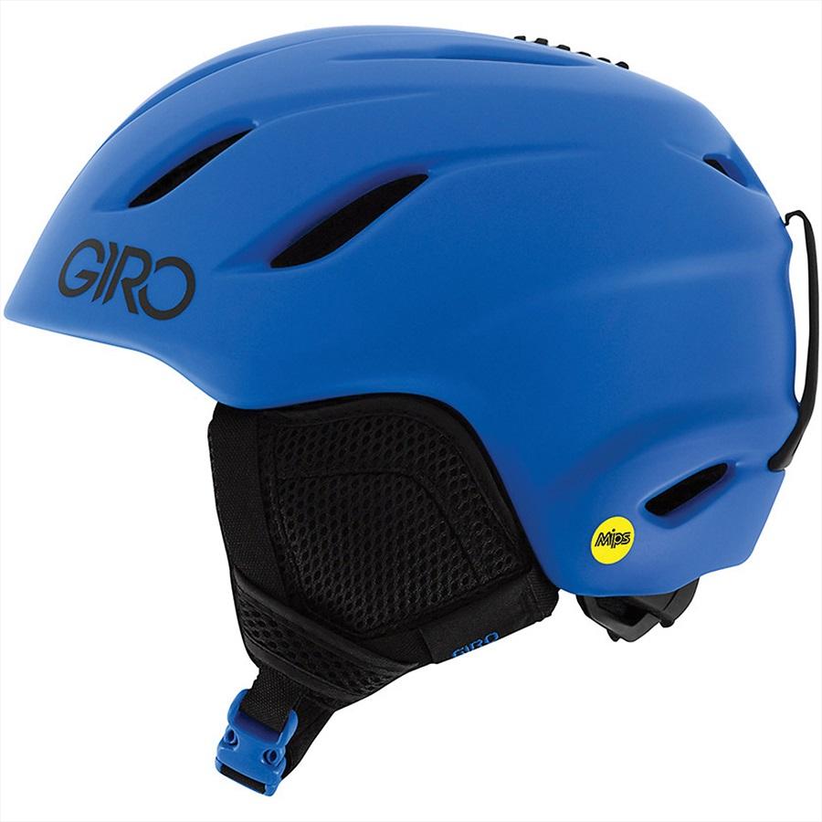 Giro Nine Jr. MIPS Kids Snowboard/Ski Helmet, S Matte Blue