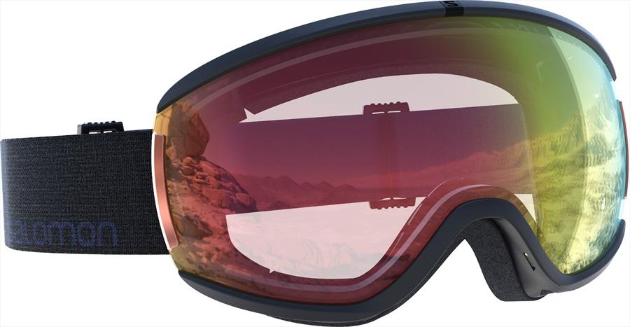 f418dc2ff7 Salomon Ivy Black Women's Snowboard/Ski Goggles, S/M, Photochromic Red
