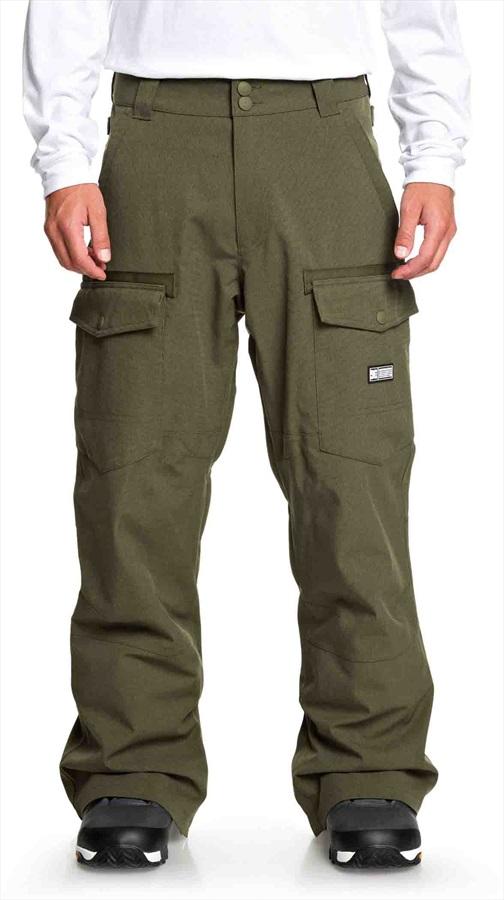DC Code Ski/Snowboard Pants, XL Olive Night