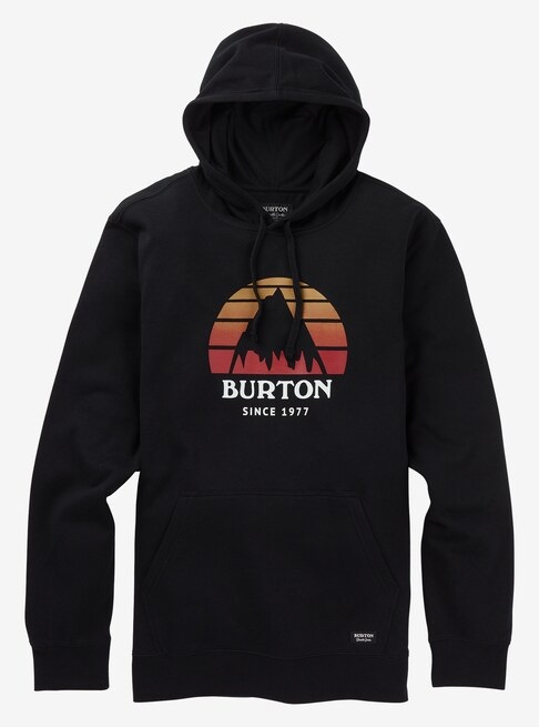 Burton Underhill Pullover Hoodie, S True Black