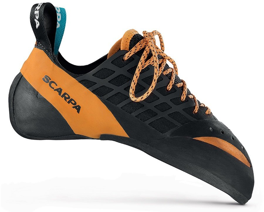Scarpa Instinct Lace Rock Climbing Shoe UK 7 | EU 41 Black