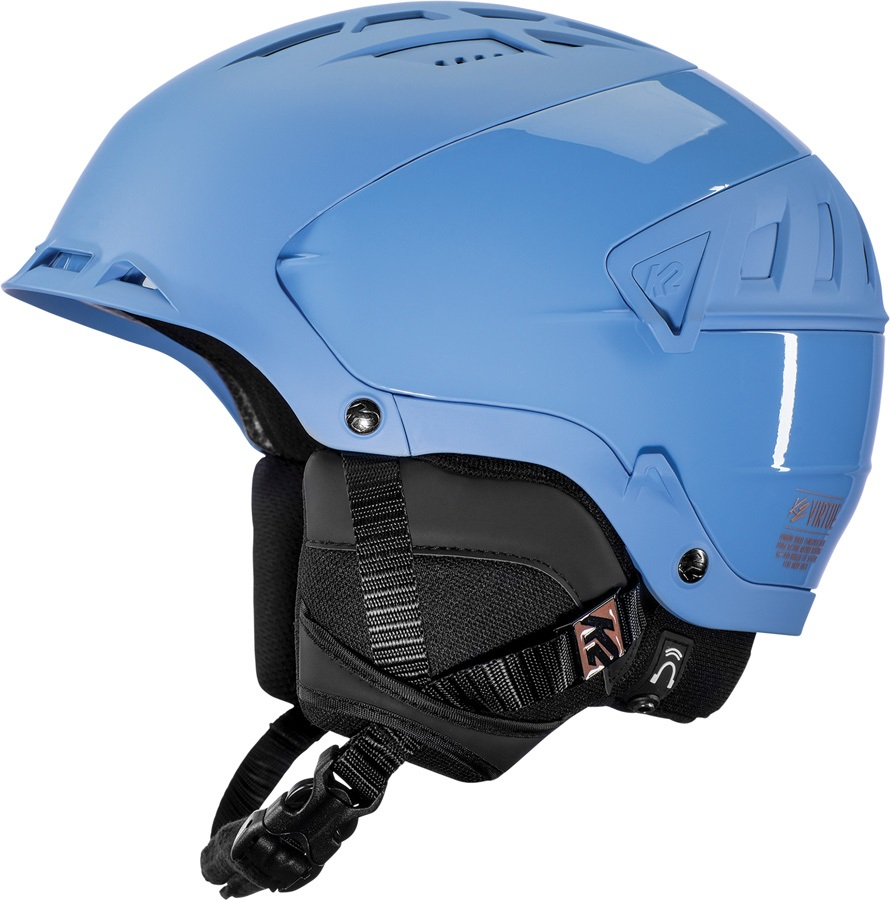 K2 Womens Virtue Women's Ski/Snowboard Helmet, M Midnight Blue