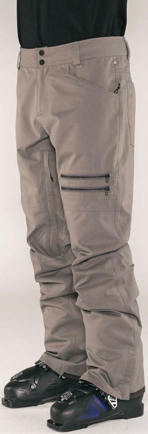 Armada Atmore Stretch Snowboarding/Ski Pants, S Slate