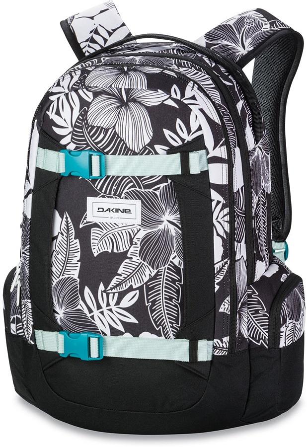 Dakine Mission Women's Ski/Snowboard Backpack, 25L Hibiscus Palm