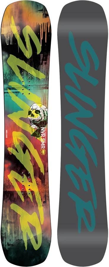 Never Summer Funslinger Rocker Camber Snowboard, 153cm 2020