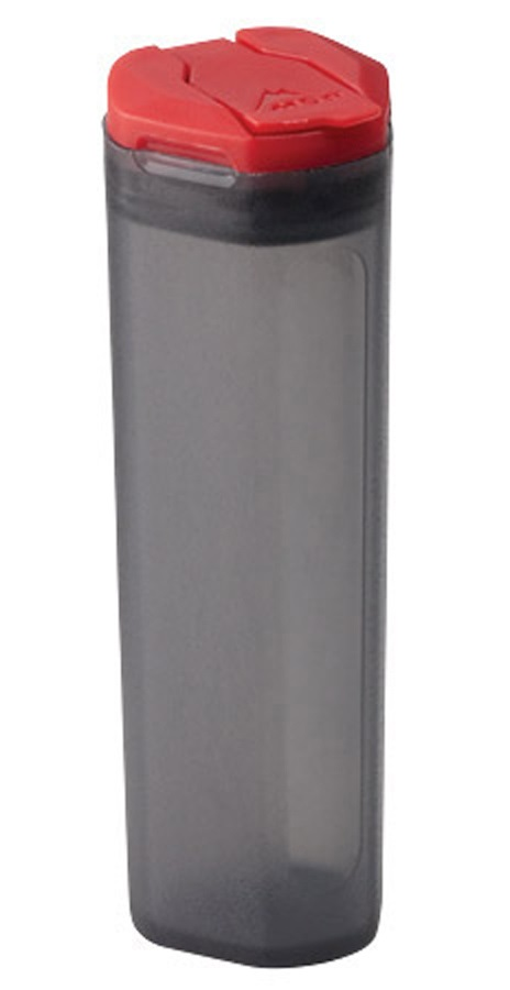 MSR Alpine Spice Shaker Camping Spice Carrier, Grey/Red