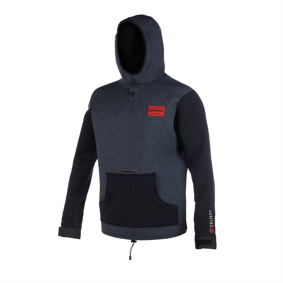 Mystic Voltage Sweat Riding Jacket, Extra Large Navy Red