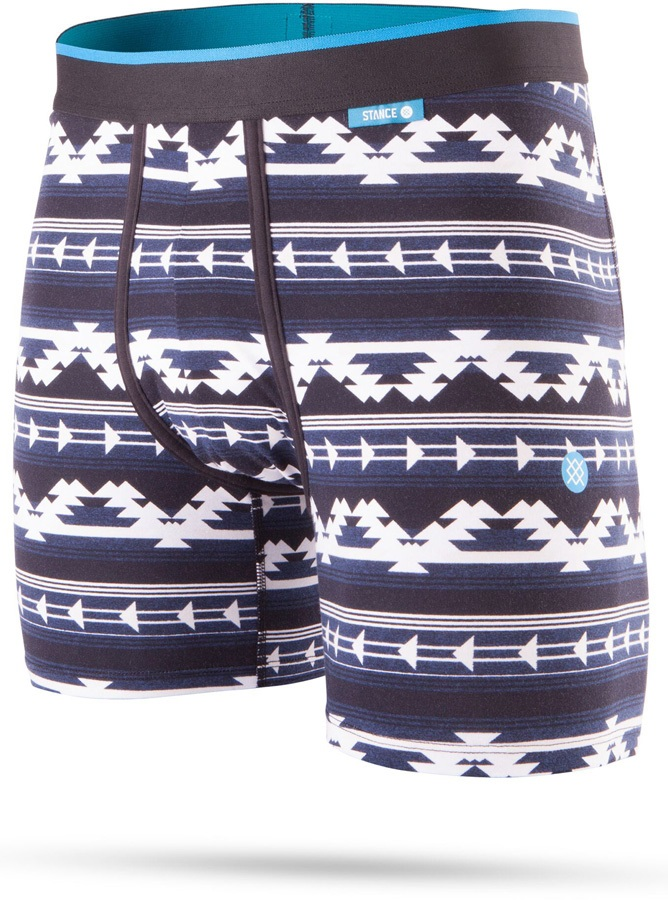 Stance Mens Wholester Cotton Boxer Shorts Underwear, S Tracker