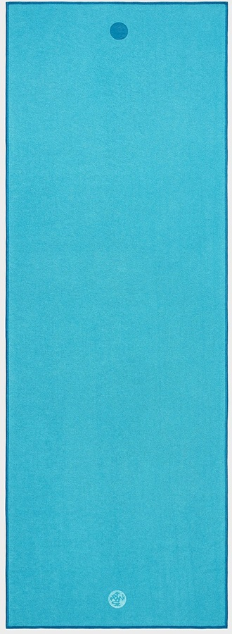 Manduka Yogitoes Yoga Mat Towel, Turquoise
