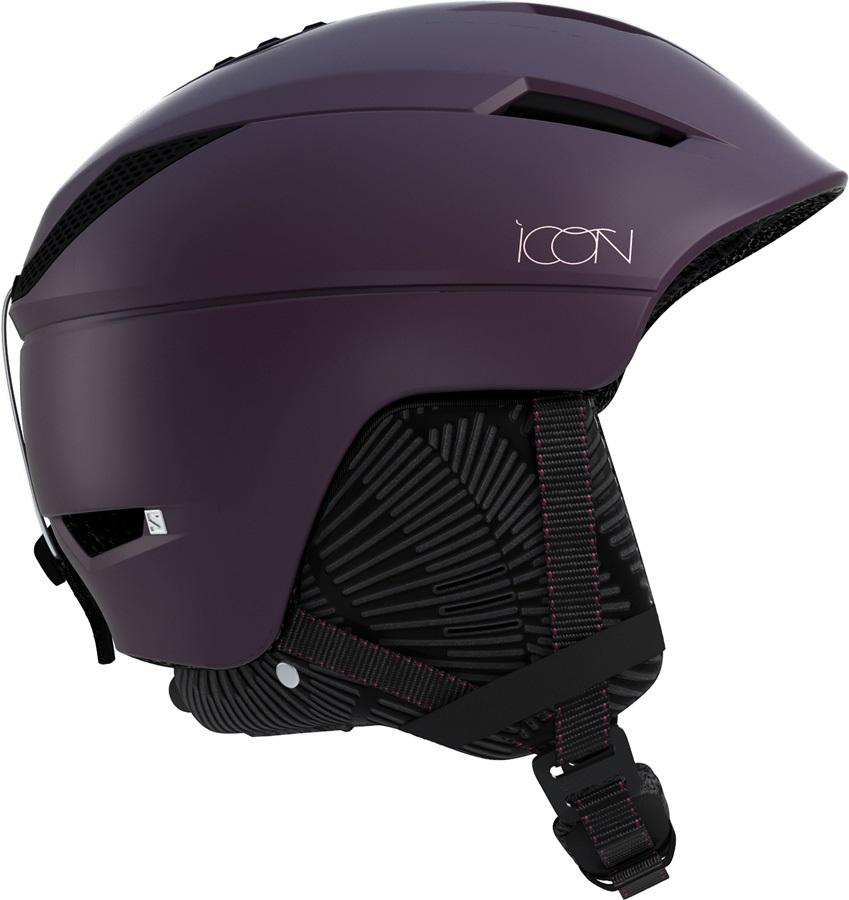 Salomon Womens Icon2 C.Air Women's Snowboard/Ski Helmet M Fig