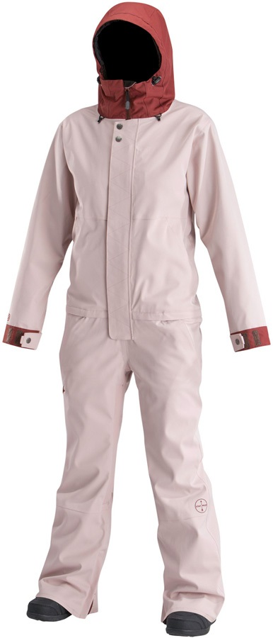 Airblaster Women's Freedom Ski/Snowboard One Piece Suit, S Ox Blush