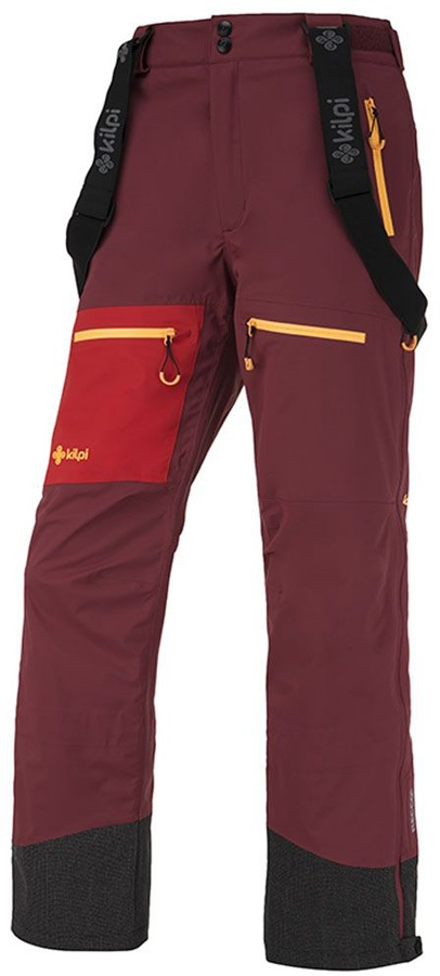 Kilpi Keku Women's Snowboard/Ski Pants, UK 16 Dark Red