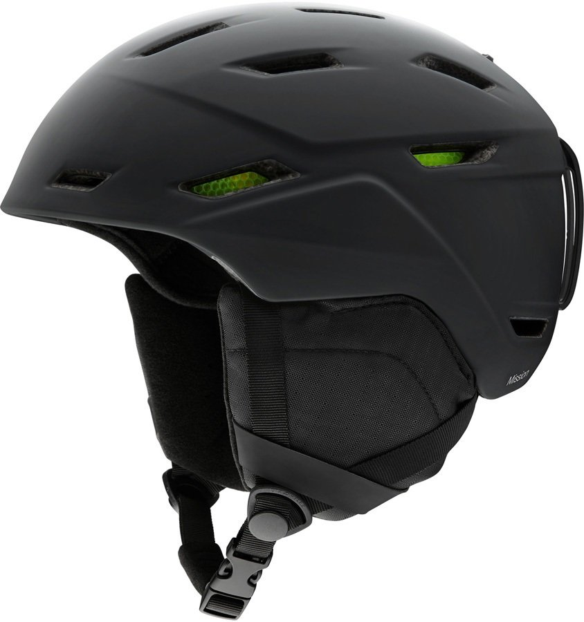 Smith Mission Snowboard/Ski Helmet, S Matte Black