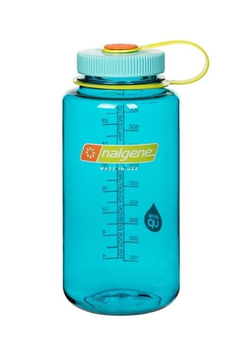 Nalgene Wide Mouth Tritan Water Bottle, 32oz Cerulean