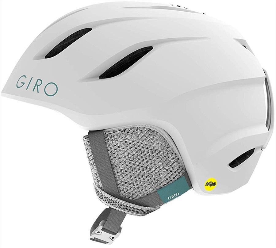 Giro Nine Jr. MIPS Kids Snowboard/Ski Helmet, S Matte White