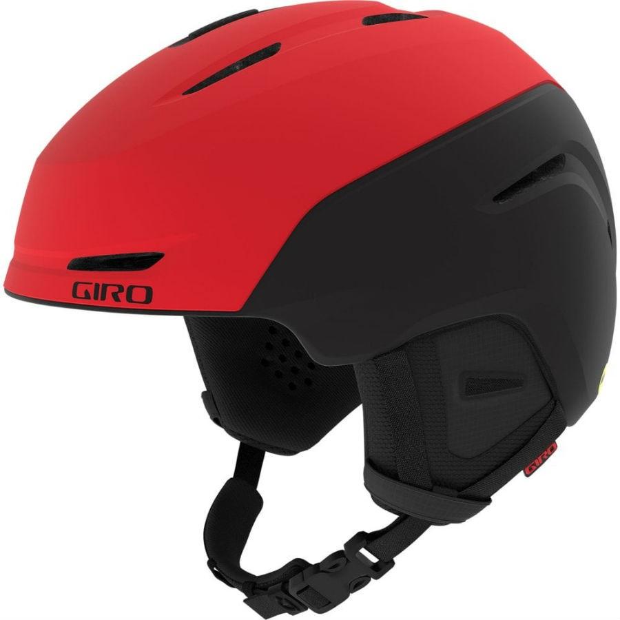 Giro NEO MIPS Ski/Snowboard Helmet, L Matte Bright Red/Black