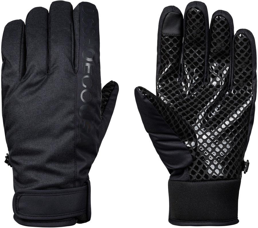 DC Deadeye Ski/Snowboard Gloves, S Black